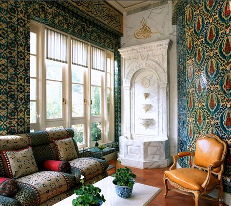 Moroccan Style living room from World of Interiors