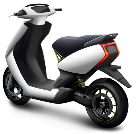Ather Electric Scooter rear three quarter