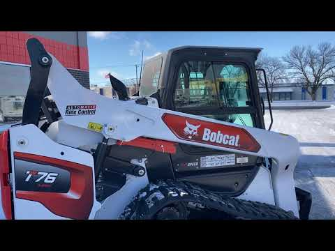 Bobcat T76 Compact Track Loader - For Sale in KS and OK