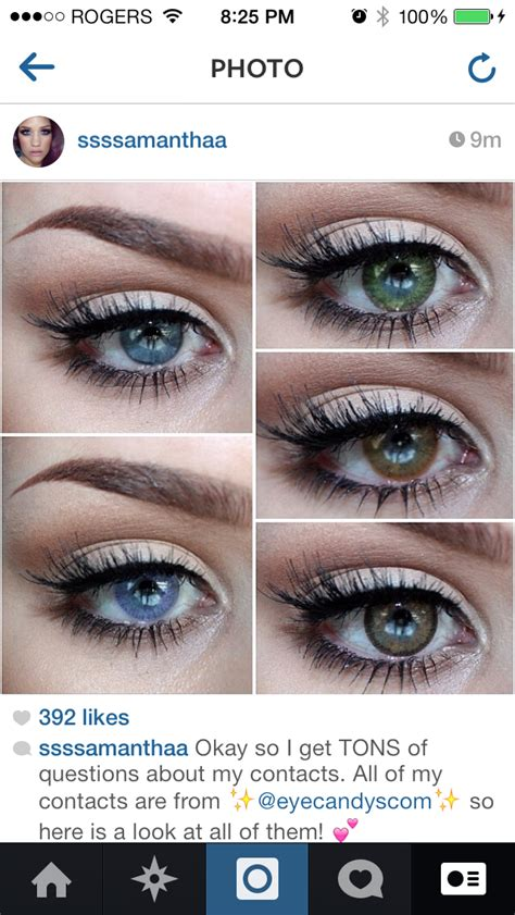 Buy FreshLook ColorBlends & Dailies Contacts | EyeCandy's
