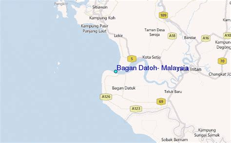 Bagan Datoh, Malaysia Tide Station Location Guide