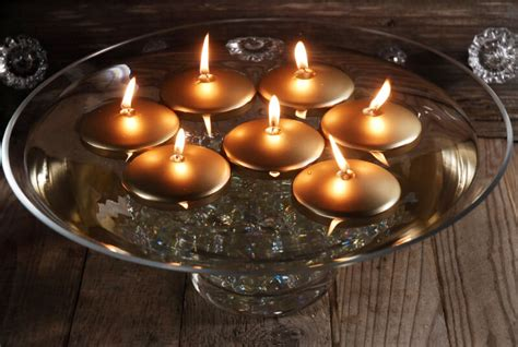 Floating Candles Gold
