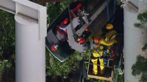 Roller-coaster accident injures 4 near L
