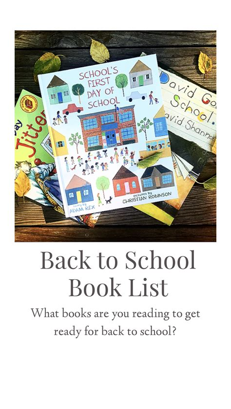 """Reading books about all those """"Back to School"""" feelings"""