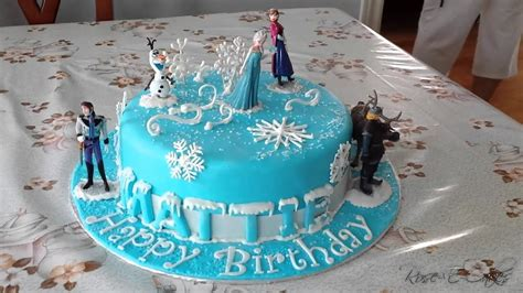 Frozen Cake - Inspired by the Hit Disney Movie - YouTube