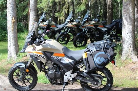 Rally Raid Honda CB500X Adventures Kitted with Giant Loop