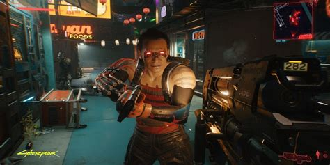 Cyberpunk 2077 Has an NSFW Witcher Reference   Game Rant