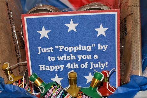 Add A Pinch Of Sparkle: 4th of July Gift Basket
