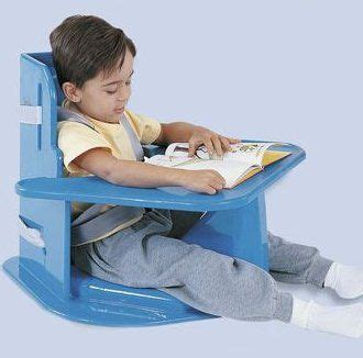 Corner and floor sitting chairs for disabled children