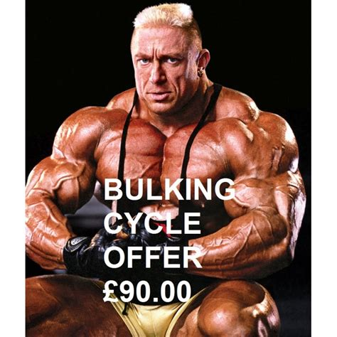 Classic Bulking Cycle Offer - Genuine Steroids for Sale: