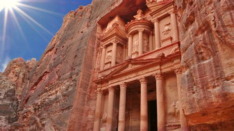 Petra Luxurious Temple With A Facade In Greek Style Known