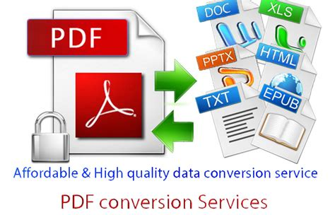 DCC: Benefits of PDF and PDF Conversion Services