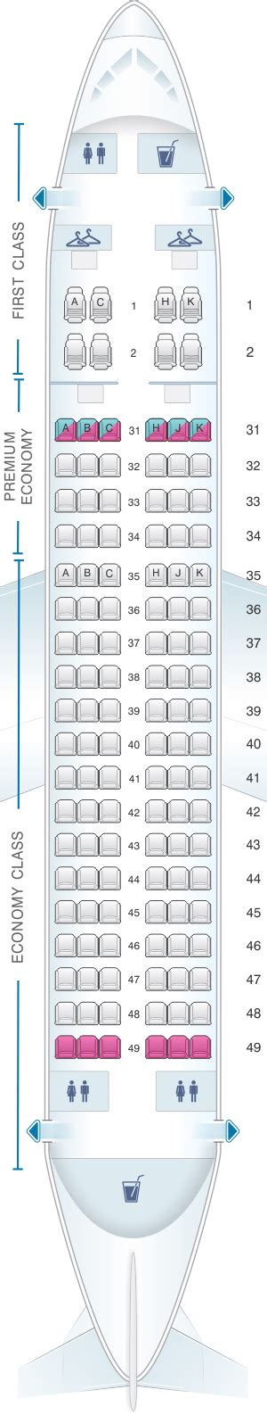 Seat Map China Southern Airlines Airbus A319   SeatMaestro