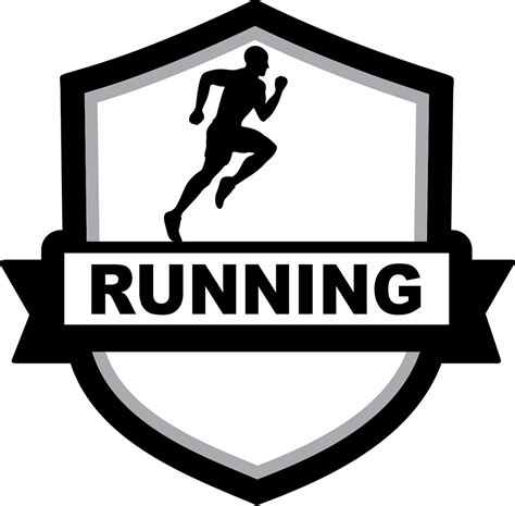 Jacketshop Patch Male Running Badge Patch