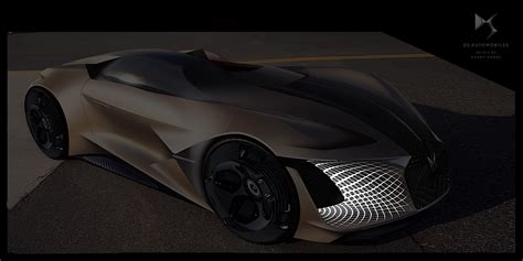 DS Asymmetrical X E-Tense Concept to Roam the Streets in