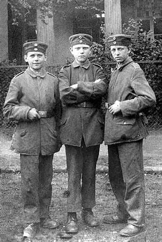 Almost 250,000 Underage Soldiers Fought In World War I